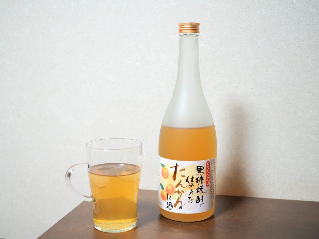 奄美たんかん酒とジャスミン茶割